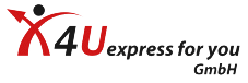 X4U express for you GmbH Logo